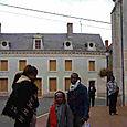 L'arrivée à Luçay-le-Mâle